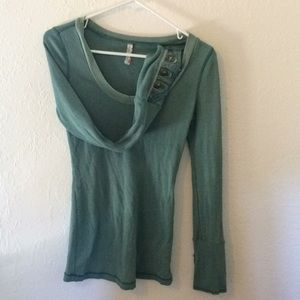 Very rare! Free People moto cuff thermal